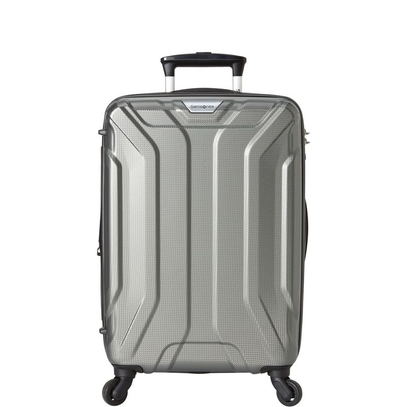 サムソナイト メンズ スーツケース バッグ Englewood 20 Expandable Hardside Carry-On Spinner - eBags Exclusive Charcoal - Order Now: Ships 07/17/18