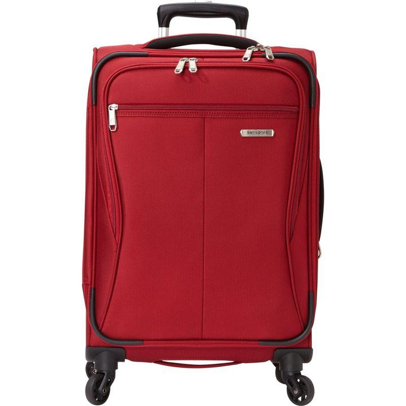 サムソナイト メンズ スーツケース バッグ Lamont 20 Expandable Carry-On Spinner - eBags Exclusive Tuscany Red