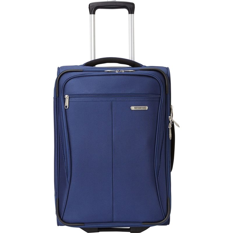 <title>送料無料 サイズ交換無料 サムソナイト メンズ バッグ スーツケース Twilight Blue Lamont 21 Expandable Wheeled 定価 Upright Carry-On - eBags Exclusive</title>