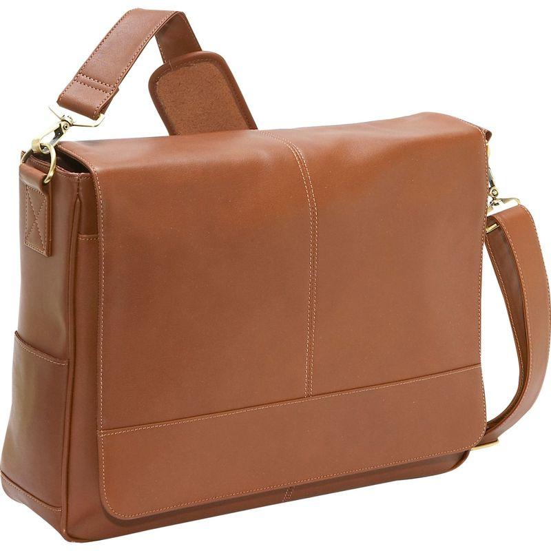 ロイスレザー メンズ スーツケース バッグ Nappa Leather Messenger Bag Tan