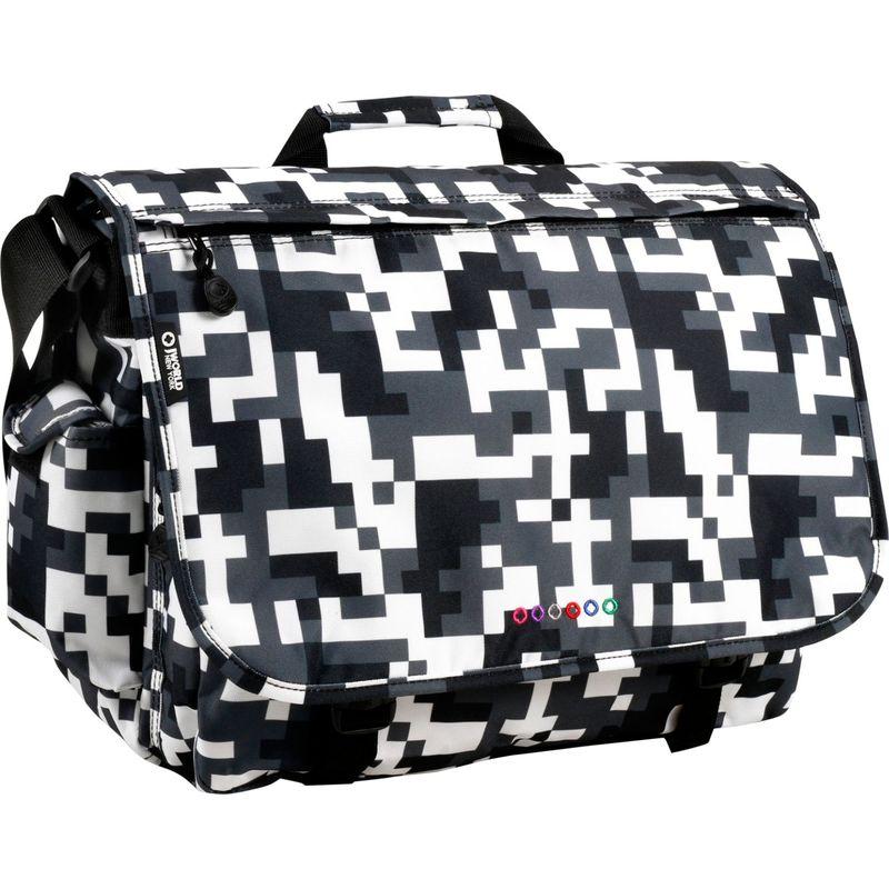 ジャイワールドニューヨーク メンズ スーツケース バッグ Thomas Laptop Messenger Camo