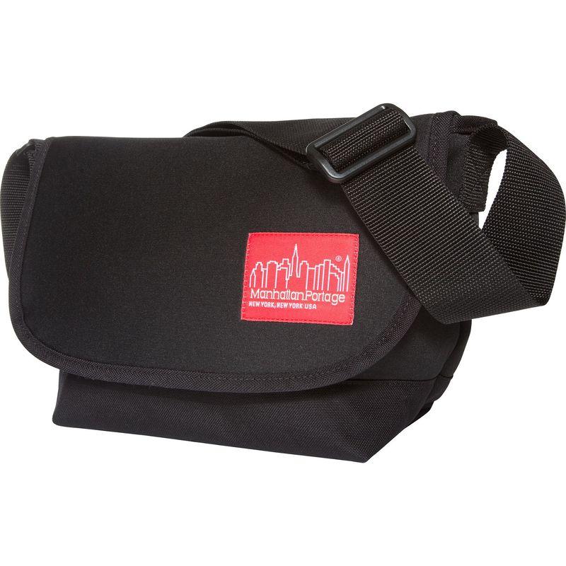 マンハッタンポーテージ メンズ ショルダーバッグ バッグ Neoprene Messenger Bag Jr Small Black
