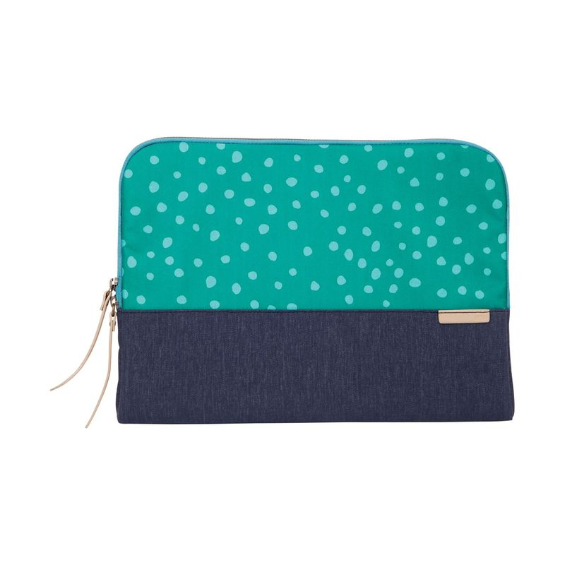 STMグッズ メンズ PC・モバイルギア アクセサリー 11 Grace Extra Small Sleeve Teal Dot/Night Sky