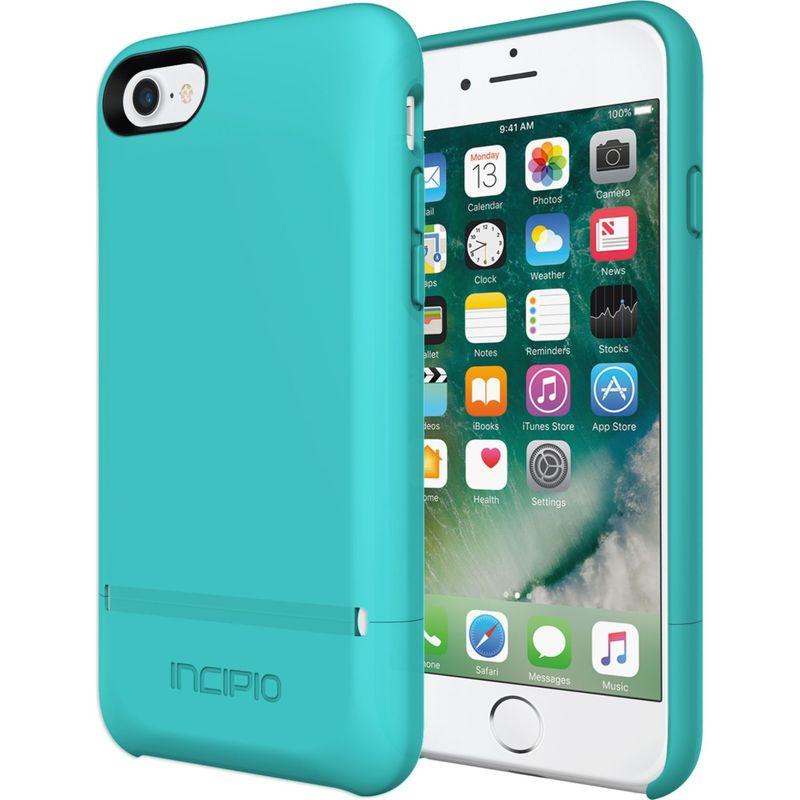インシピオ メンズ PC・モバイルギア アクセサリー Stashback for iPhone 7 Turquoise
