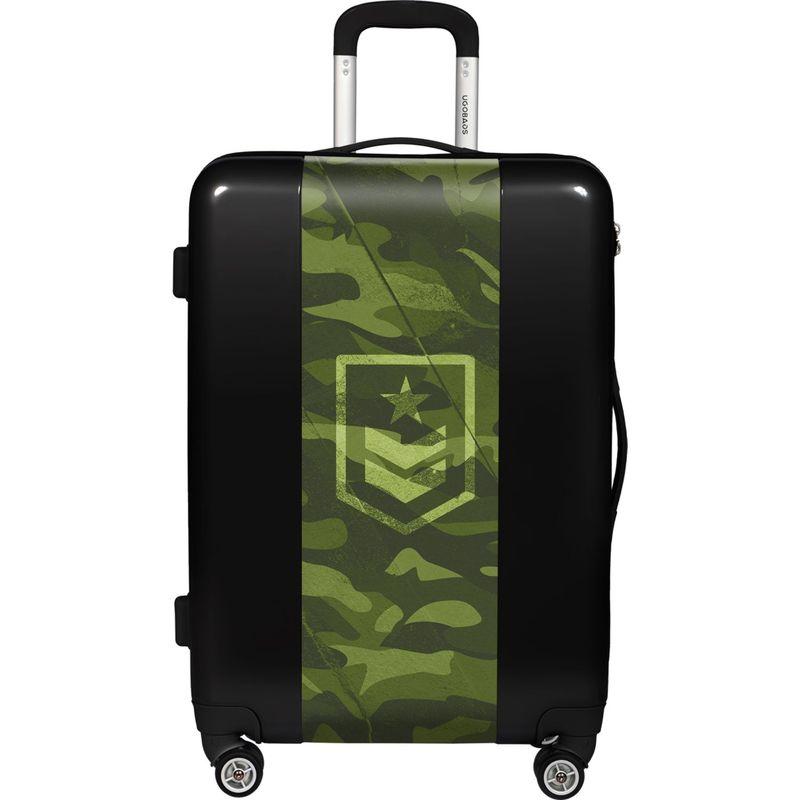 ウゴバッグ メンズ スーツケース バッグ Camouflage 26.5 Hardside Spinner Black