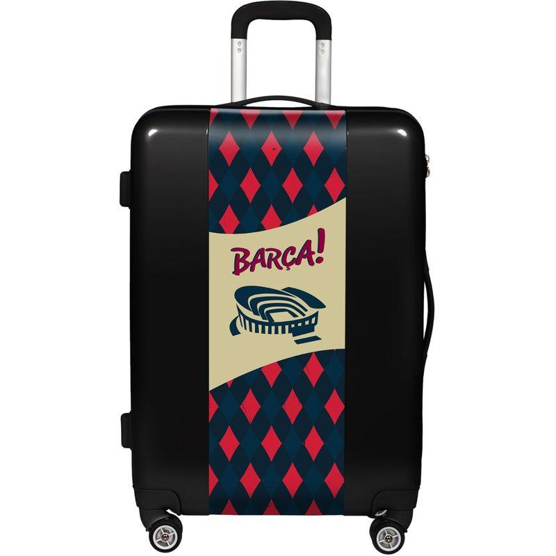 ウゴバッグ メンズ スーツケース バッグ FCB Barca Stadium 22 Hardside Spinner Carry-On Silver