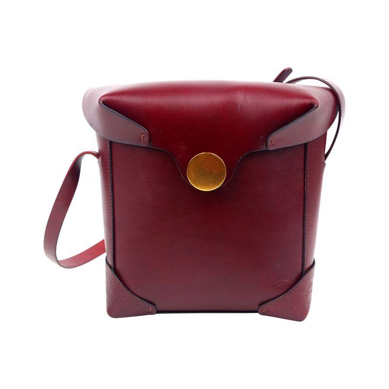 フォレッセンス メンズ ボディバッグ・ウエストポーチ バッグ Layla Camera Style Bag Burgundy