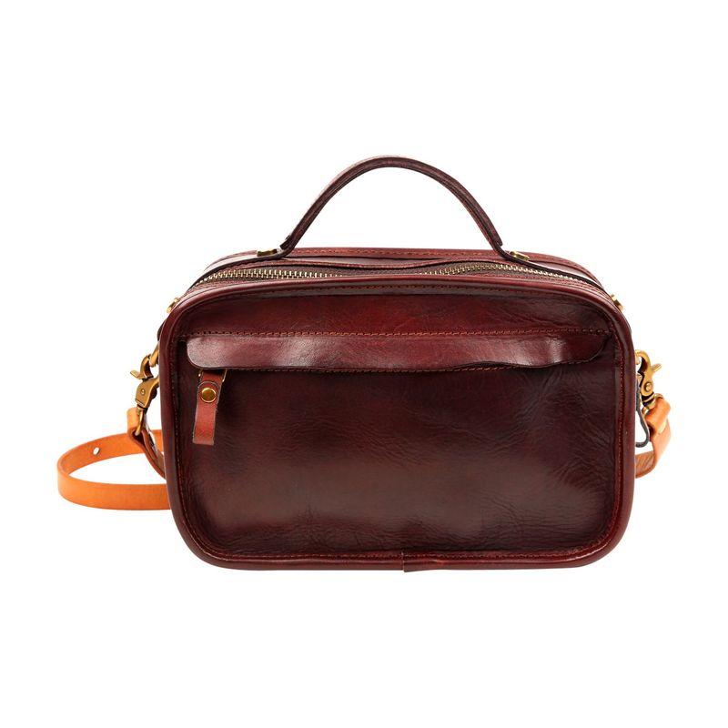 フォレッセンス メンズ ボディバッグ・ウエストポーチ バッグ Leo Convertible Mini Briefcase Brown