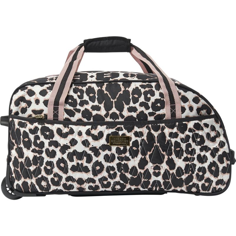 マクベス メンズ スーツケース バッグ Ciao Bella 21 Rolling Travel Duffel Pink Blushin