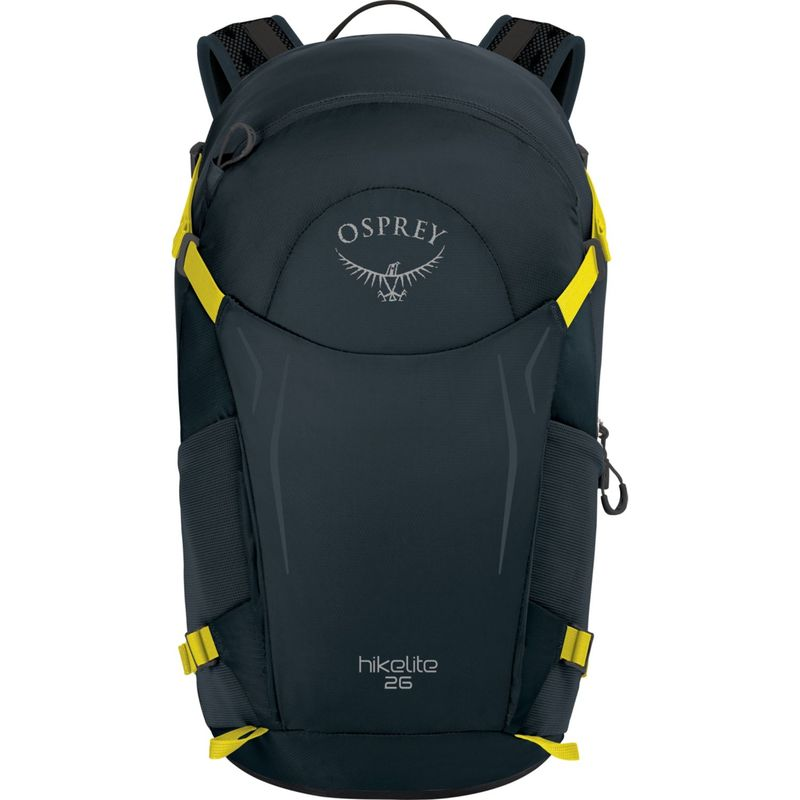 オスプレー メンズ バックパック・リュックサック バッグ Hikelite 26 Hiking Backpack Shitake Grey