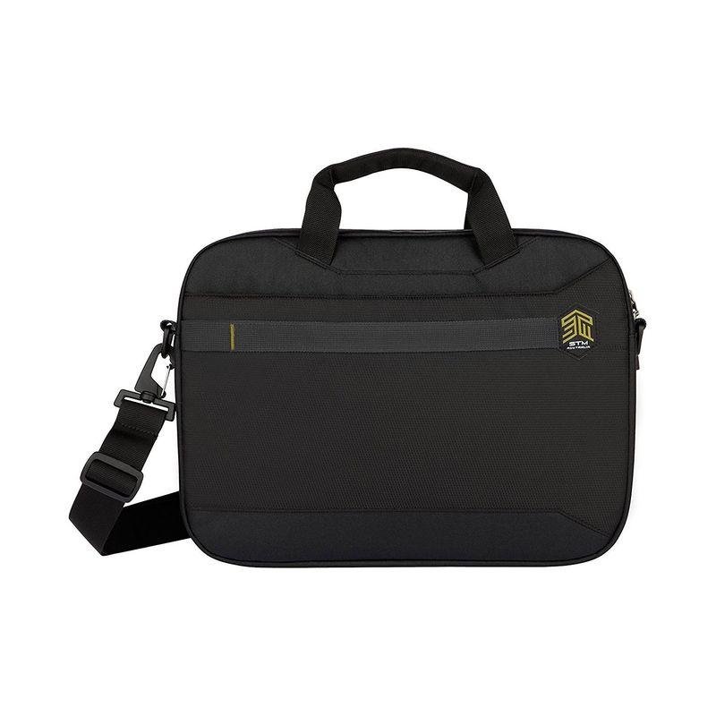 STMグッズ メンズ スーツケース バッグ Chapter 15 Laptop Messenger Bag Black