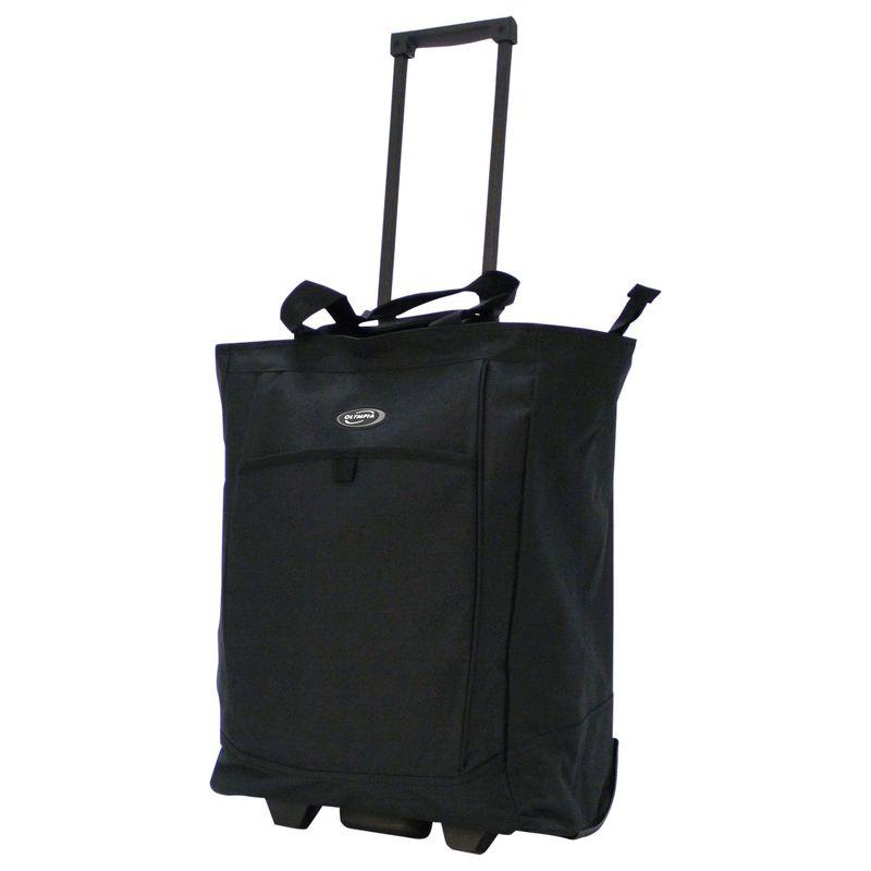 オリンピア メンズ スーツケース バッグ Shopper Tote Bag - 20 Black
