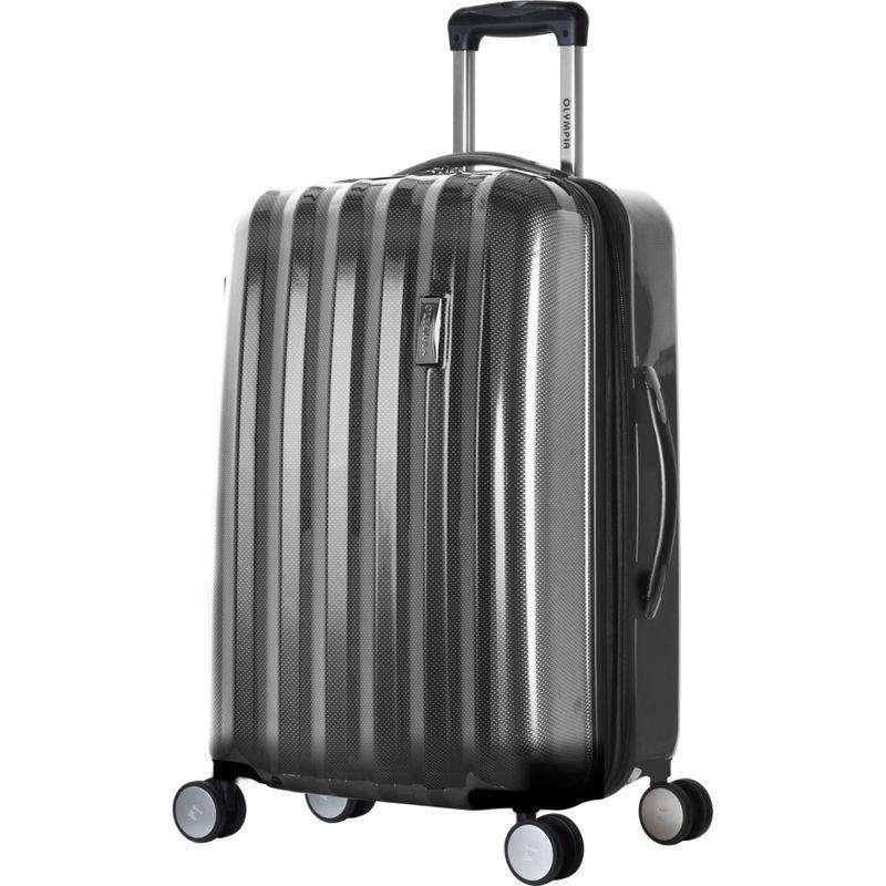 オリンピア メンズ スーツケース バッグ Titan Hardside 25 Spinner Black