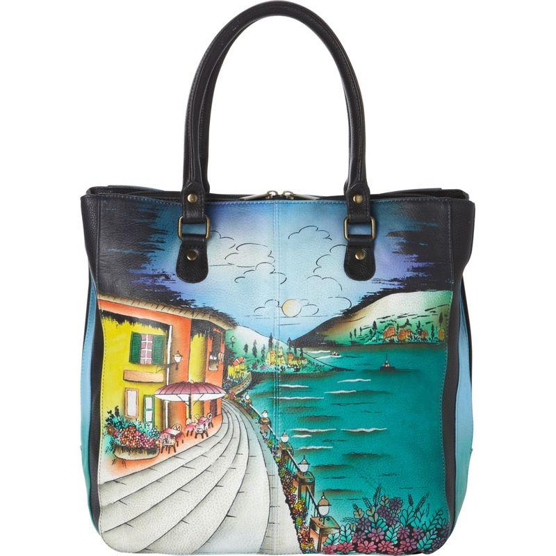 アンナバイアナシュカ メンズ ショルダーバッグ バッグ Hand Painted Small Multi Compartment Shopper Moonlit Capri
