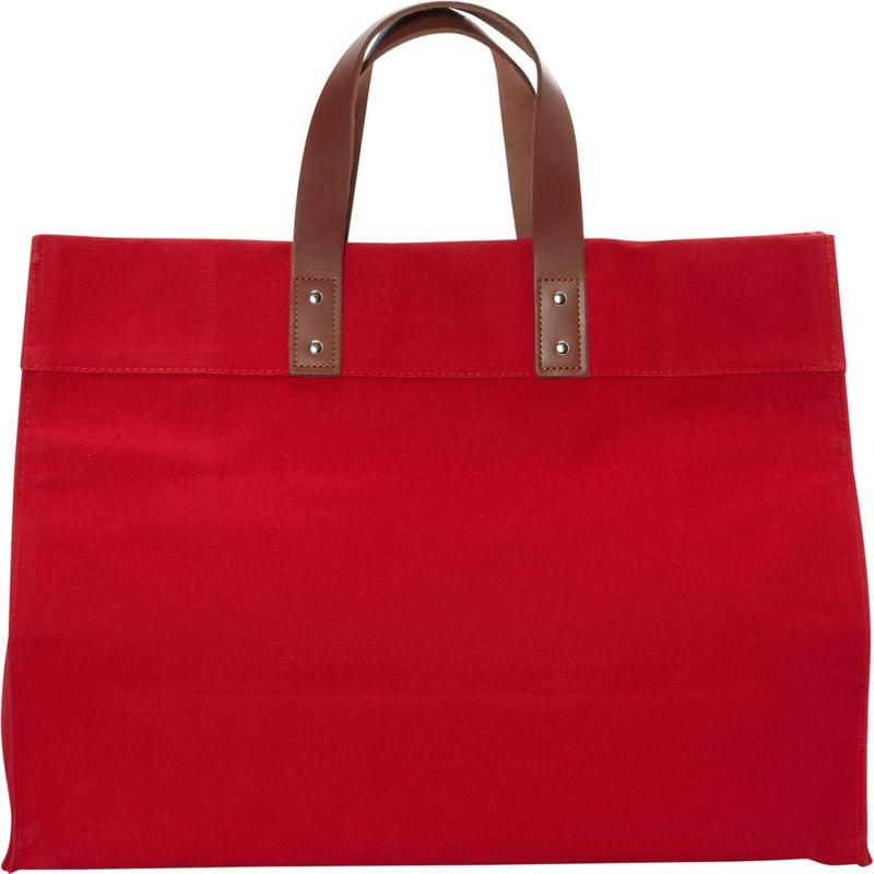 ロンバスキャンバス メンズ トートバッグ バッグ Manhattan Tote Red