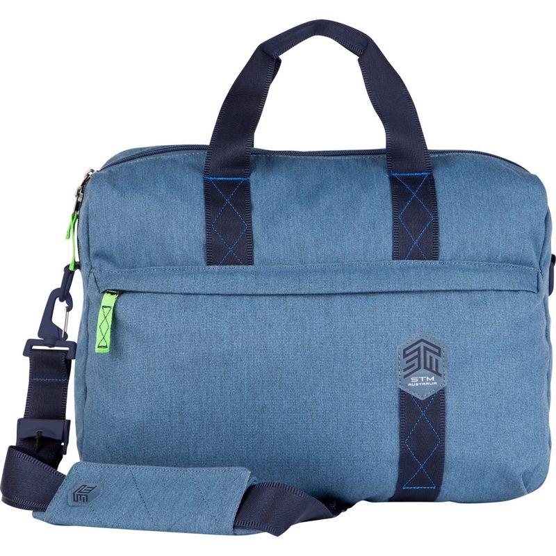 "STMグッズ メンズ スーツケース バッグ 15"" Judge Messenger Bag China Blue"