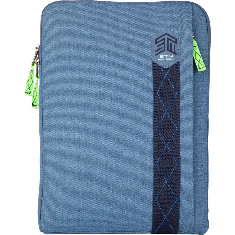 "STMグッズ メンズ スーツケース バッグ 15"" Ridge Sleeve China Blue"