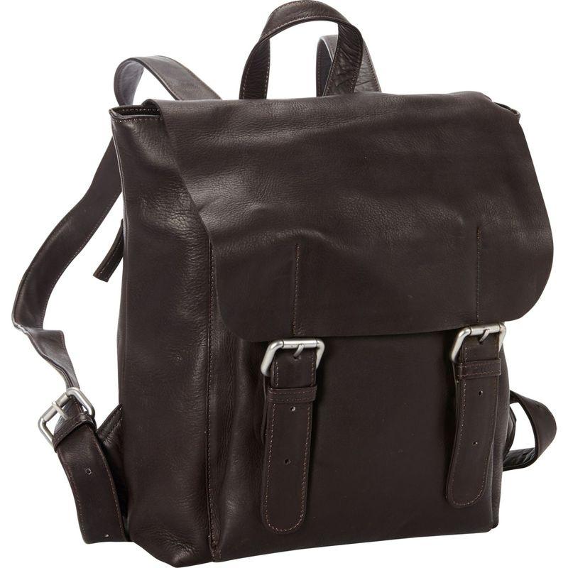 ピーターソン メンズ スーツケース バッグ San Francisco 13 Laptop Backpack Brown
