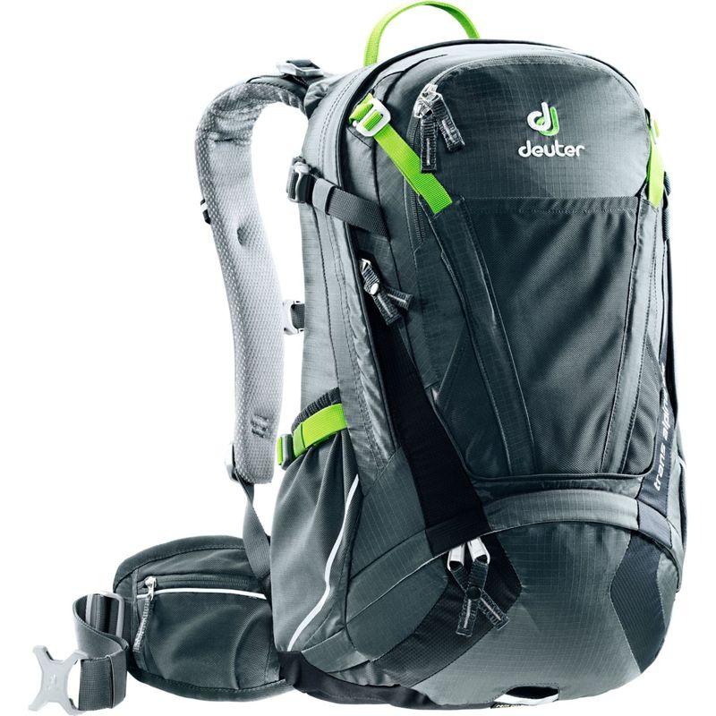ドイター メンズ バックパック・リュックサック バッグ Trans Alpine 24 Hiking Pack Graphite/Black(47010)