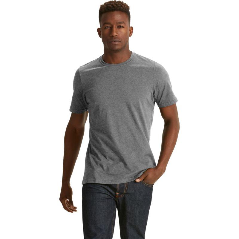 ナウ クロージング メンズ シャツ トップス Mens Short Sleeve Basis T-Shirt Charcoal Heather