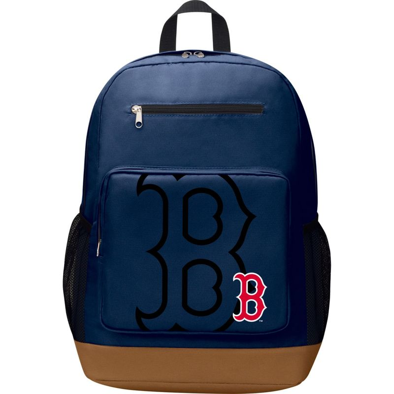 MLB メンズ バックパック・リュックサック バッグ PlayMaker Laptop Backpack Boston Red Sox
