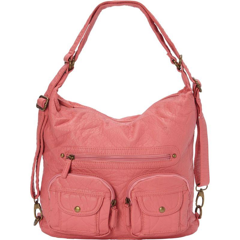 アンペレクリアーション メンズ ボディバッグ・ウエストポーチ バッグ Convertible Backpack Crossbody Purse New Pink