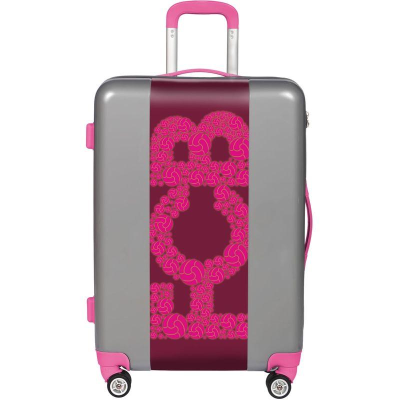ウゴバッグ メンズ スーツケース バッグ FCB Pink 26.5 Hardside Spinner Silver