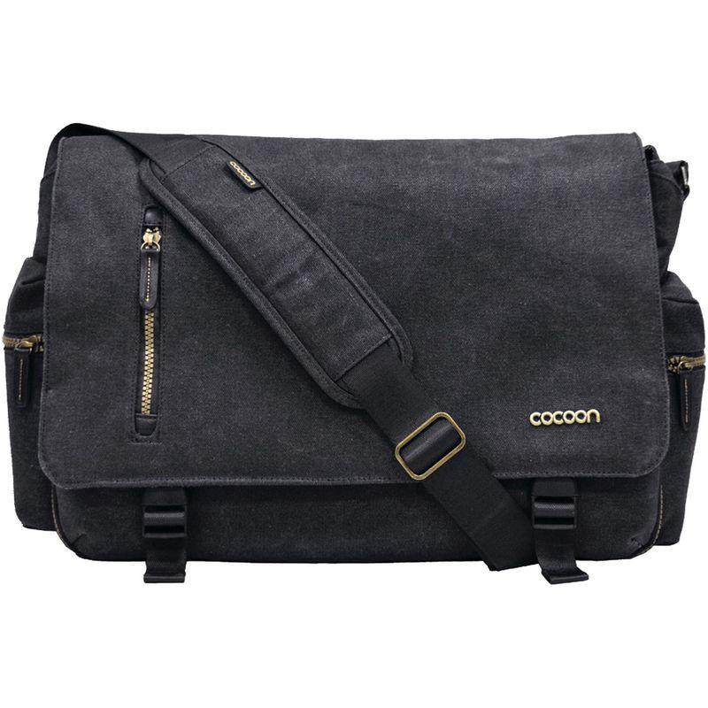 コクーン メンズ スーツケース バッグ 16 Urban Adventure Messenger Bag Black