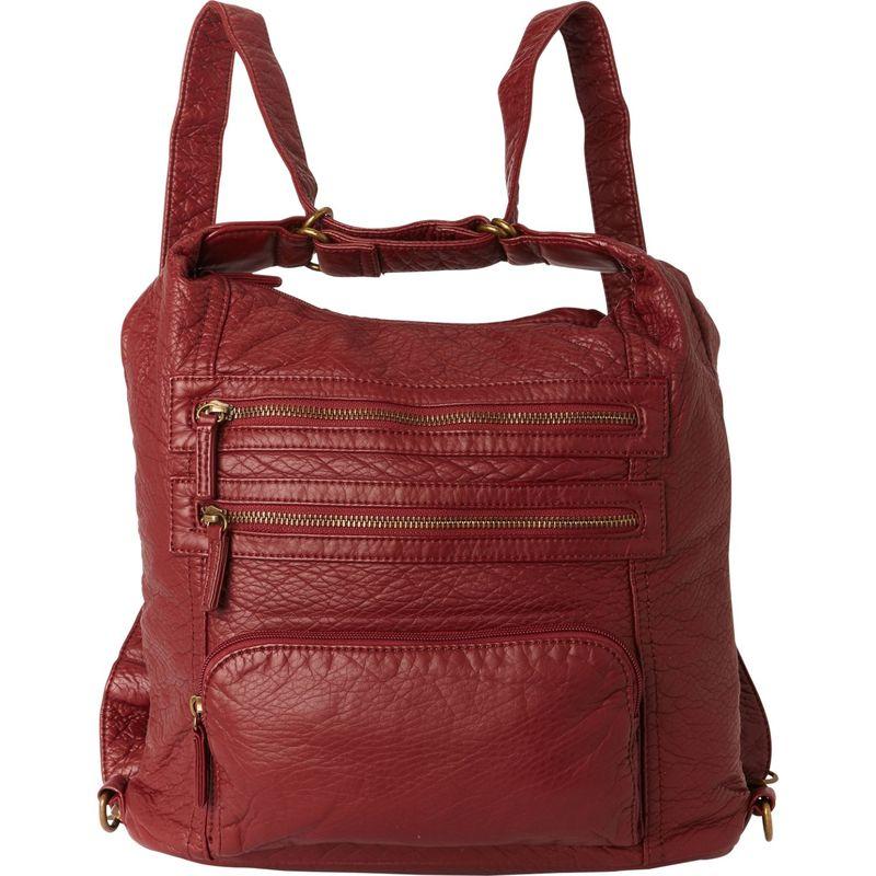 アンペレクリアーション メンズ ショルダーバッグ バッグ The Lisa Convertible Backpack Burgundy