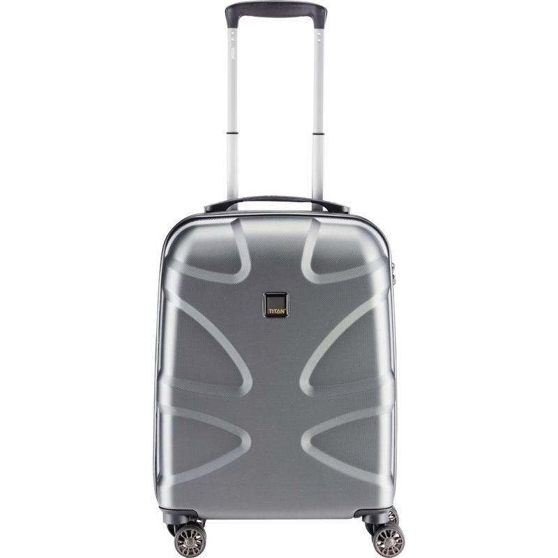 タイタンバッグス メンズ スーツケース バッグ X2 Hardside 21 Spinner CarryOn Gunmetal