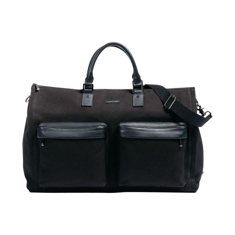 フック&アルバート メンズ スーツケース バッグ Twill Gen. 2 Garment Weekender Bag Black