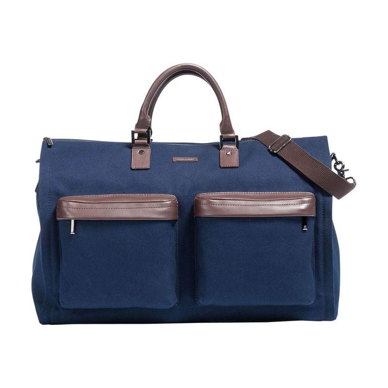 フック&アルバート メンズ スーツケース バッグ Twill Gen. 2 Garment Weekender Bag Navy