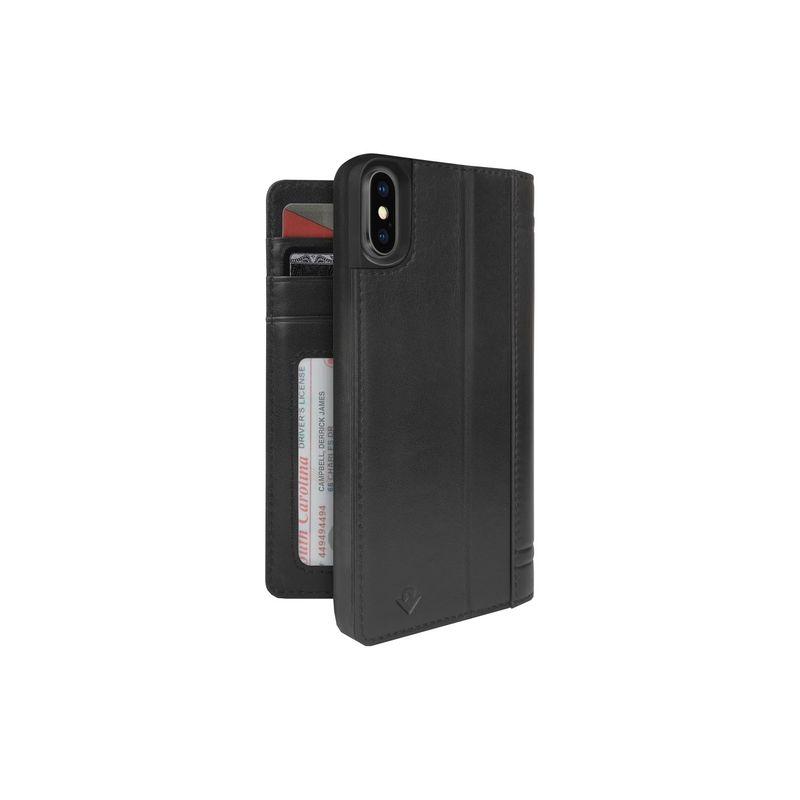 トゥエルブサウス メンズ PC・モバイルギア アクセサリー Journal for iPhone X Black