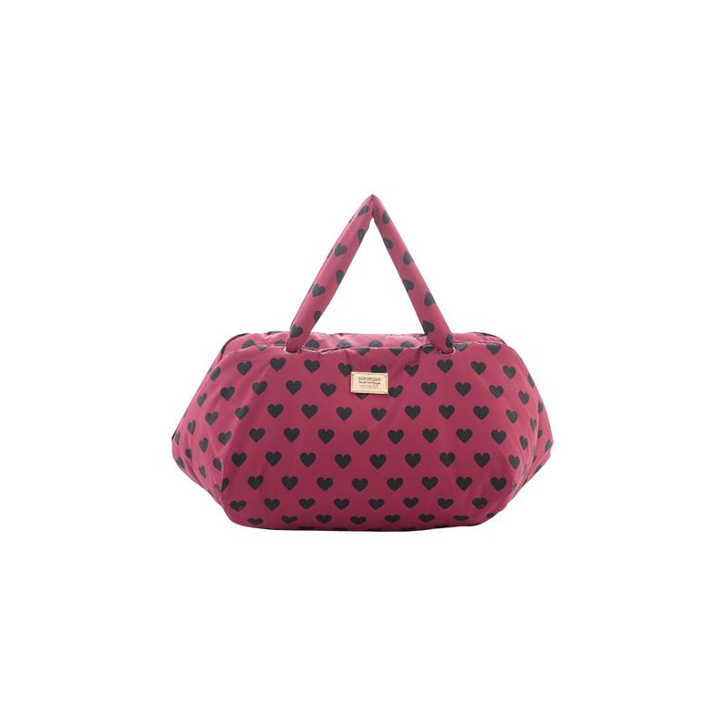 ヴォヴァロヴァ メンズ スーツケース バッグ Travel Bag Burgundy Love