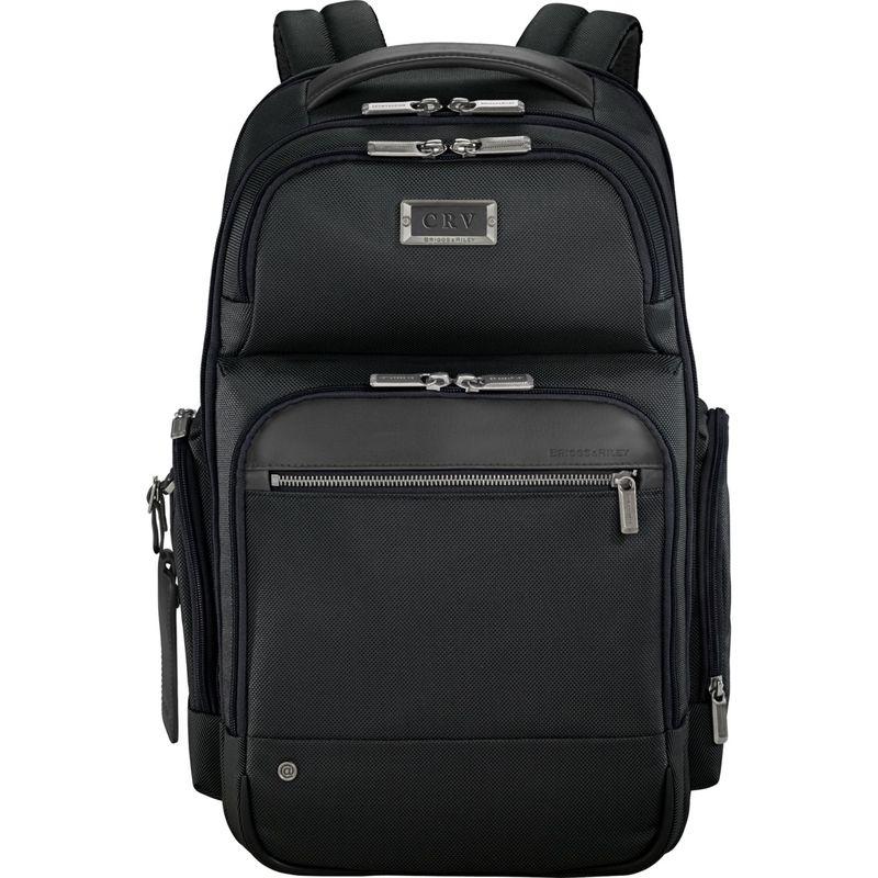 ブリグスアンドライリー メンズ スーツケース バッグ @work Medium Cargo Laptop Backpack Black