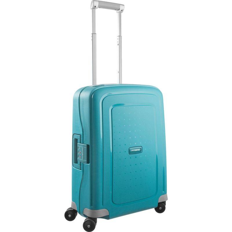 サムソナイト メンズ スーツケース バッグ S'Cure 20 Hardside Spinner Carry-On Aqua Blue