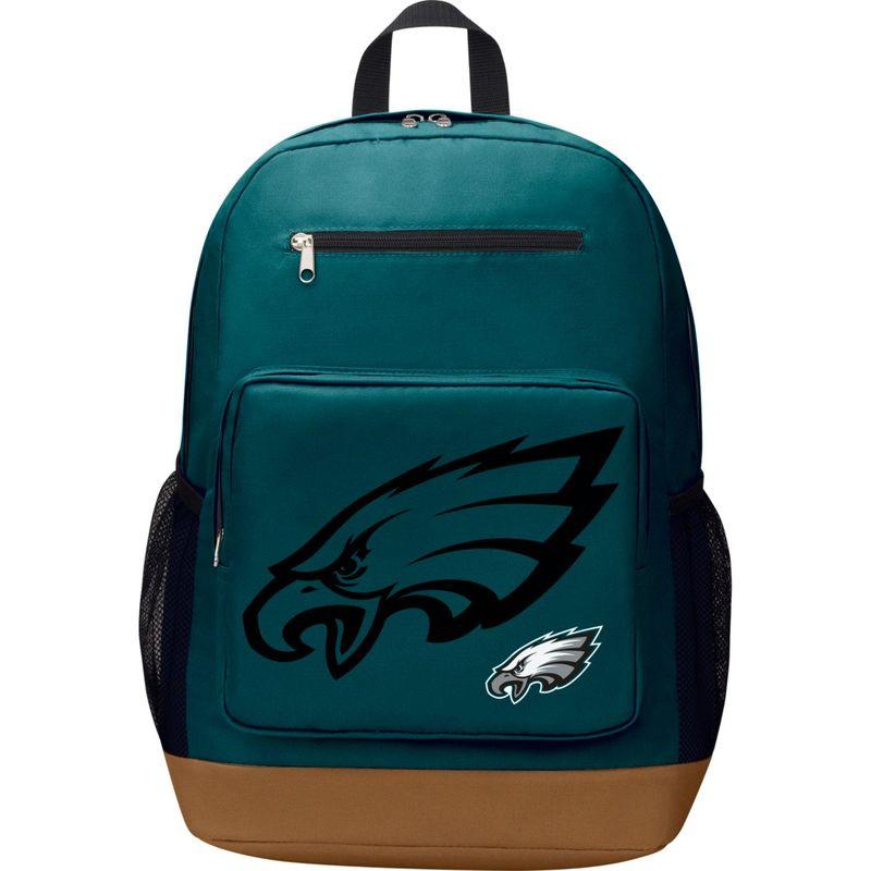 NFL メンズ バックパック・リュックサック バッグ PlayMaker Laptop Backpack Philadelphia Eagles