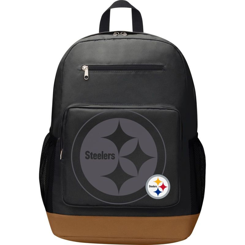 NFL メンズ バックパック・リュックサック バッグ PlayMaker Laptop Backpack Pittsburgh Steelers