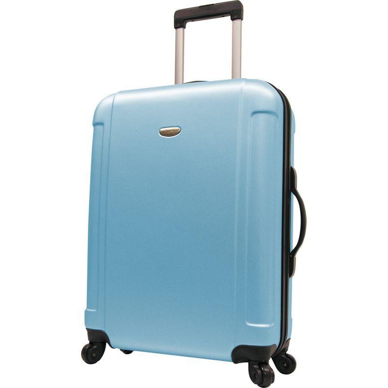 トラベラーズチョイス メンズ スーツケース バッグ Freedom 29 in. Hardshell Spinner Upright Arctic Blue