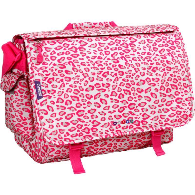 ジャイワールドニューヨーク メンズ スーツケース バッグ Thomas Laptop Messenger Leopard