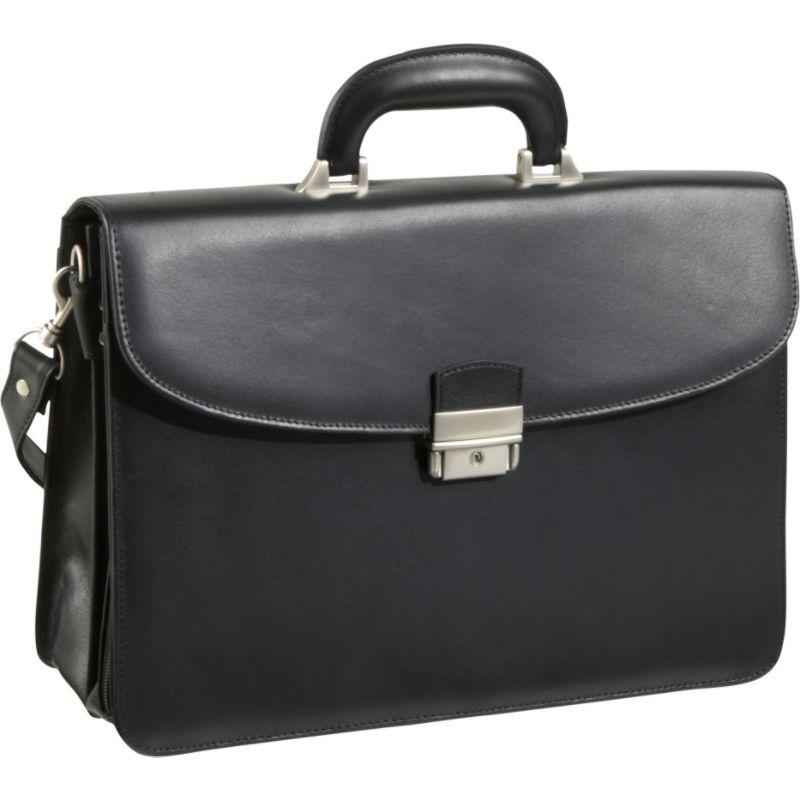 アメリ メンズ スーツケース バッグ APC Functional Leather Executive Briefcase Black