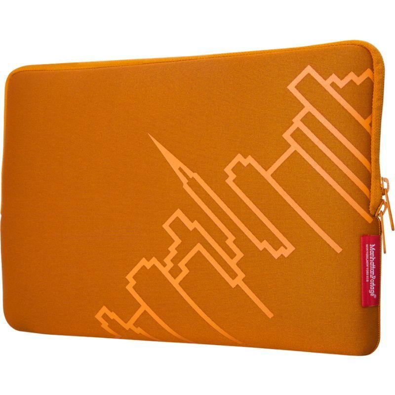 マンハッタンポーテージ メンズ スーツケース バッグ MacBook Air Skyline Sleeve (13) Orange