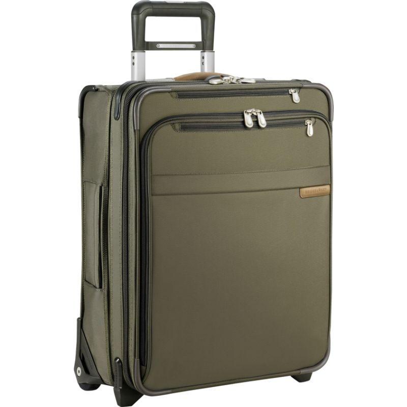 ブリグスアンドライリー メンズ スーツケース バッグ Baseline Commuter Exp. Upright Olive