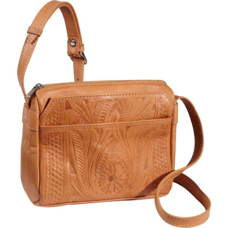 ロピンウェスト メンズ ショルダーバッグ バッグ Small Multipocket Shoulder Bag Natural