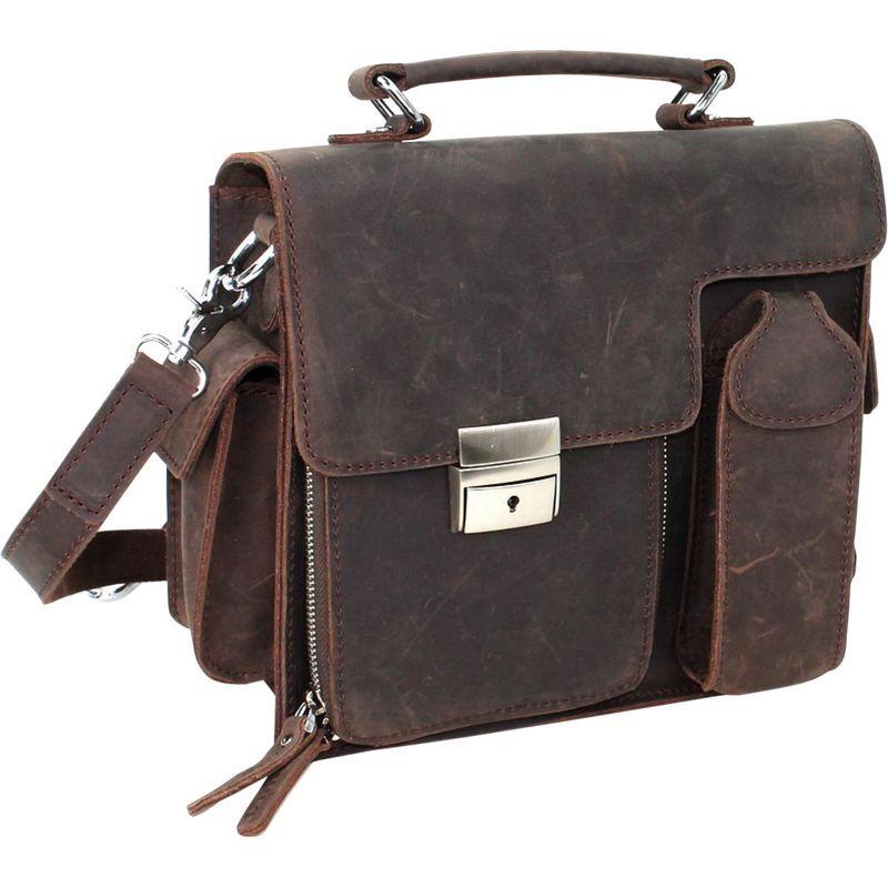 ヴァガボンドトラベラー メンズ ショルダーバッグ バッグ 9.5 Cowhide Leather Shoulder Bag Vintage Brown