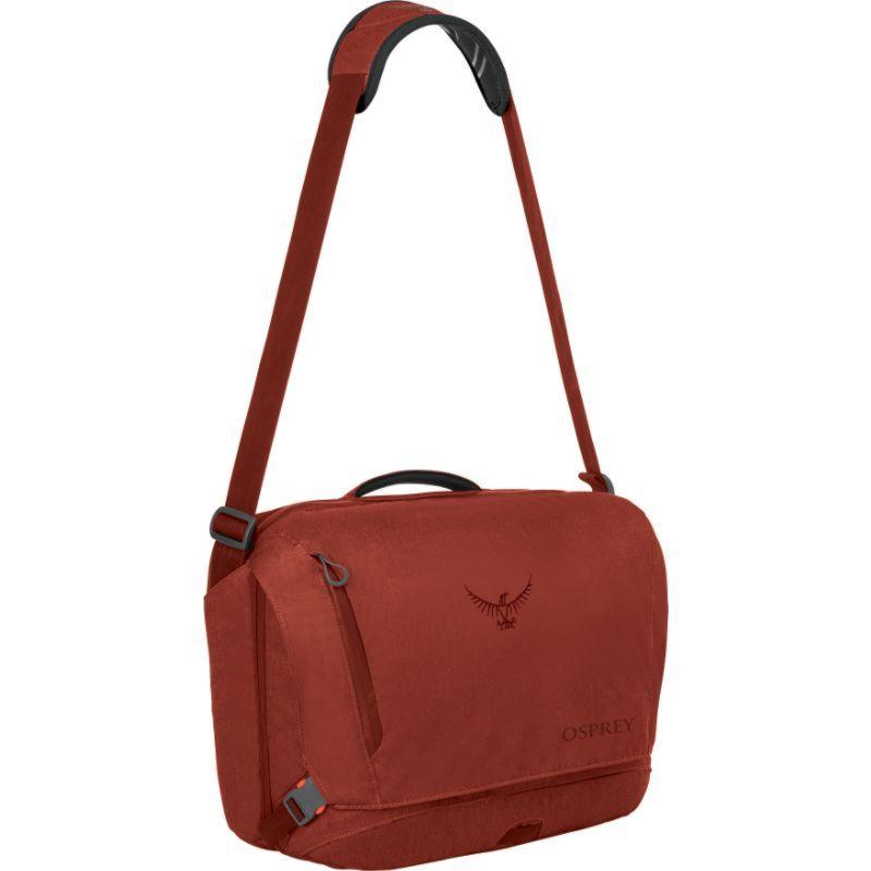オスプレー メンズ スーツケース バッグ Beta Courier Bag Pinot Red