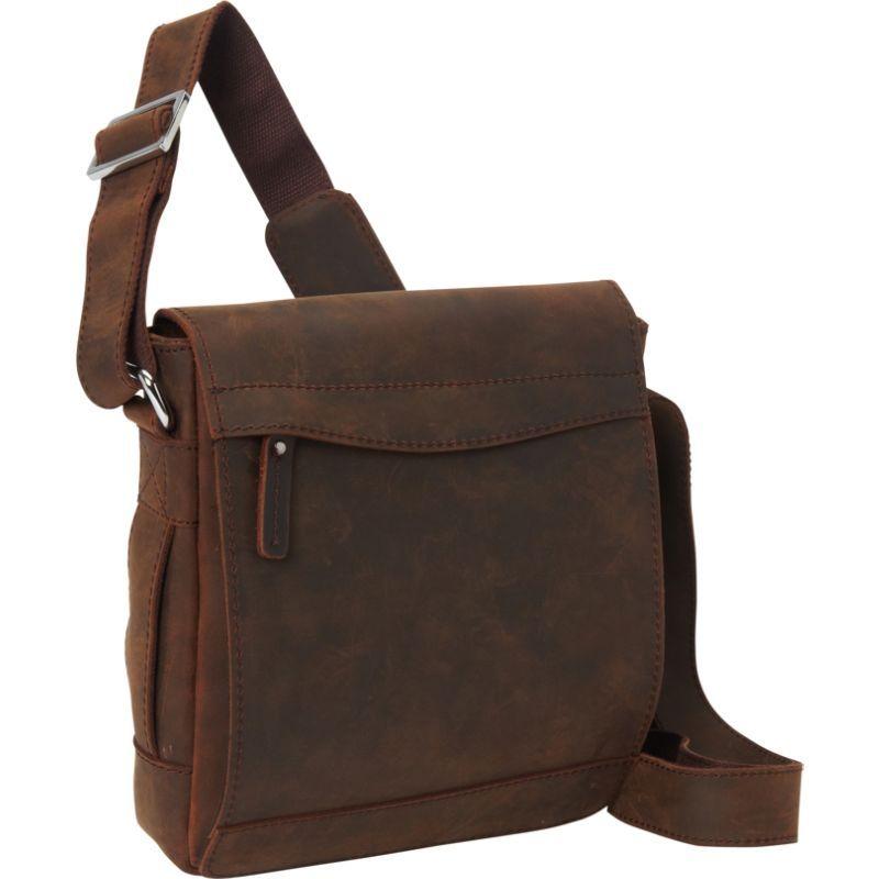 ヴァガボンドトラベラー メンズ ショルダーバッグ バッグ 10 Cowhide Leather Satchel Bag Vintage Distress