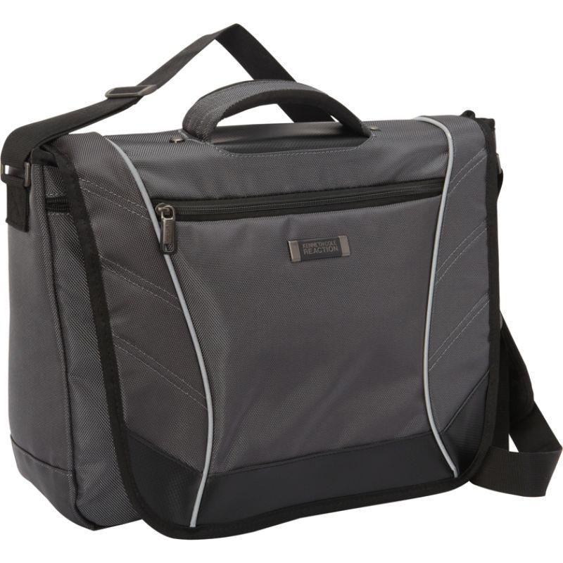 ケネスコール メンズ スーツケース バッグ Rock Paper Scissors Laptop Messenger Charcoal, ASA エーエスエー:96a09984 --- asc.ai