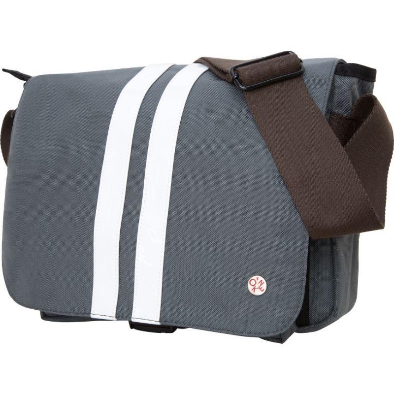 トーケン メンズ ショルダーバッグ バッグ Murray Shoulder Bag (M) Grey/White