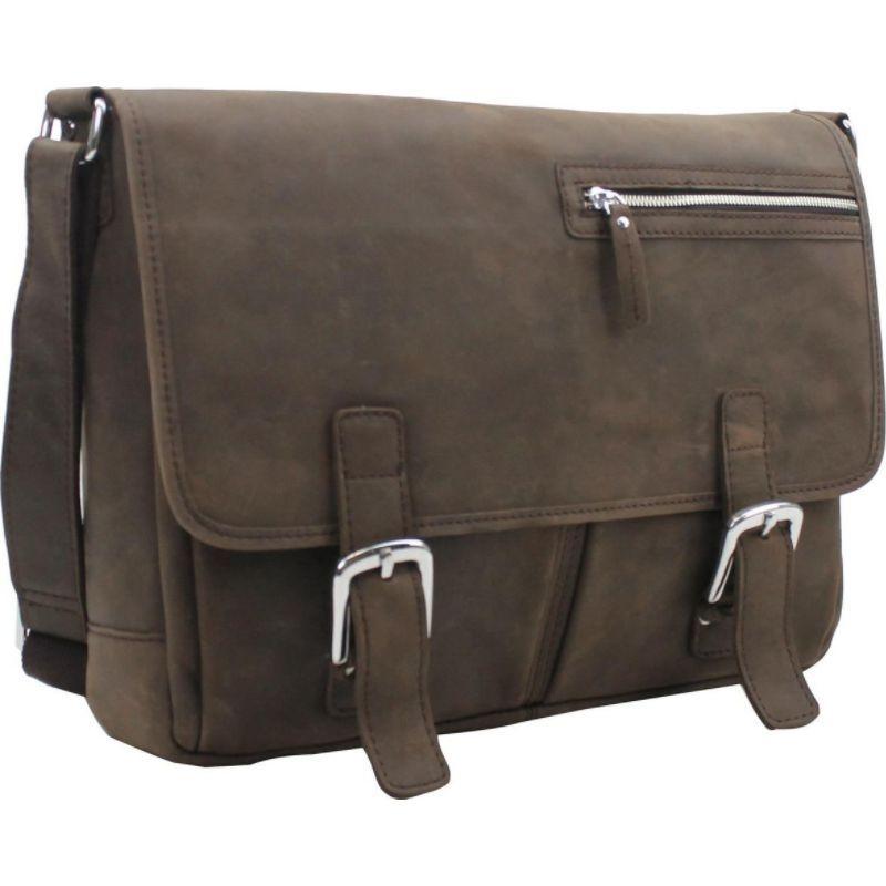 ヴァガボンドトラベラー メンズ ショルダーバッグ バッグ 16 Leather Messenger Bag Distress